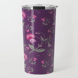 VINTAGE FLOWER6 Pop Art Travel Mug