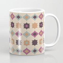 Retro pattern . Pastel . Coffee Mug