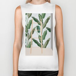 Plantscape Biker Tank