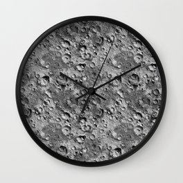Moonscape Wall Clock