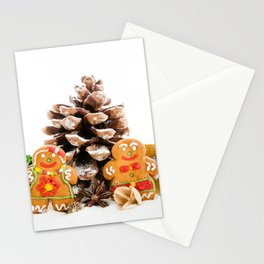 Ginger cookies Stationery Cards
