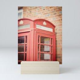 Telephone Box Mini Art Print