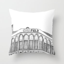Citi Field Throw Pillow