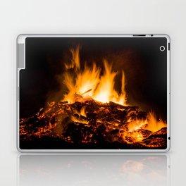 Fire flames Laptop & iPad Skin