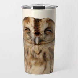 Sleepy Owl Travel Mug
