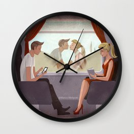 Could you be loved Wall Clock
