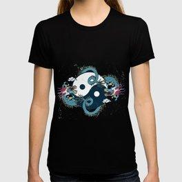 Ying-Yang Lucky Dragon Chinese Fengshui Art T-shirt