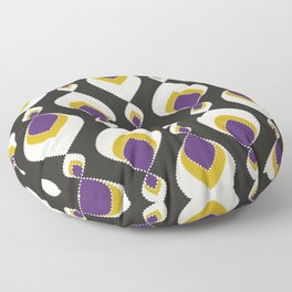 """Abstract pattern """" Carnival """". Floor Pillow"""
