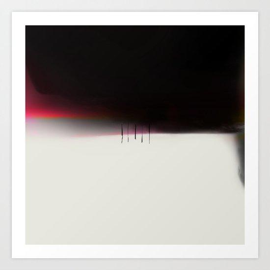LONG TIME TO TOMORROW - #5 QUIET Art Print