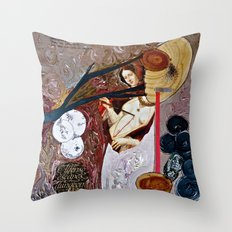 Deathgown Throw Pillow