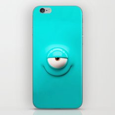 Crazy eye iPhone & iPod Skin