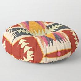 Navajo Pattern Three Floor Pillow