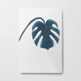 Moderna Monstera V.5 Metal Print