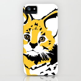 Serval 2 iPhone Case