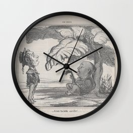 Cristi! la belle oseille!, from En Chine, published in Le Charivari, December 25, 1858,December 25, Wall Clock