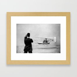 Wright Brothers Framed Art Print