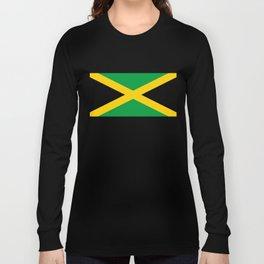 Jamaican flag, flag of Jamaica Long Sleeve T-shirt