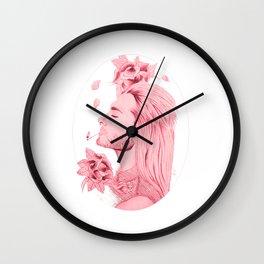 Old School Bill Kaulitz Red Wall Clock