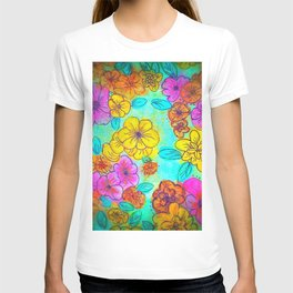Fun Flowers T-shirt