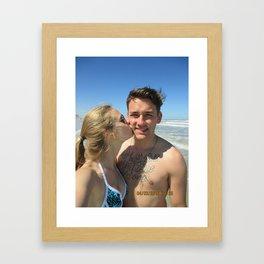 Daytona Beach Framed Art Print