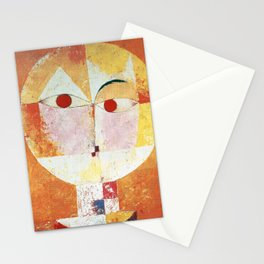"Paul Klee "" Senecio "" Stationery Cards"