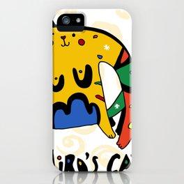 Joan Miro's Cat iPhone Case