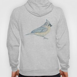 Les Animaux: Tufted Titmouse Hoody
