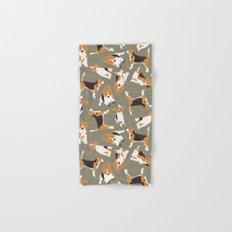 beagle scatter stone Hand & Bath Towel