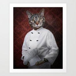 Chef Lola Art Print