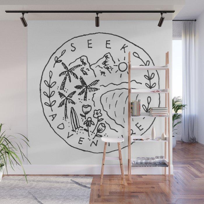 Seek Adventure Wall Mural