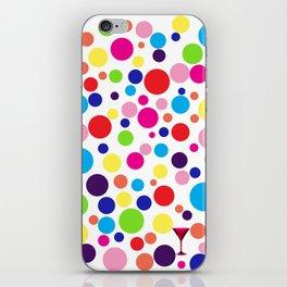 Polk-a-dot martini iPhone Skin