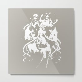 Sailor Scouts Metal Print