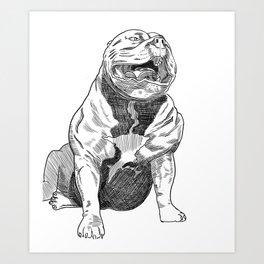 Bullie Art Print