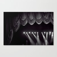 theater Canvas Prints featuring Theater by Jessica Krzywicki
