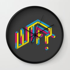 F*** The What? Wall Clock