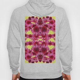 STRAWBERRY ECHINACEA FLOWERS GARDEN DESIGN Hoody