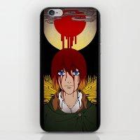 shingeki no kyojin iPhone & iPod Skins featuring Shingeki no Kyojin - Armin card by kamikaze43v3r