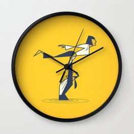 Pulp Dancing Wall Clock