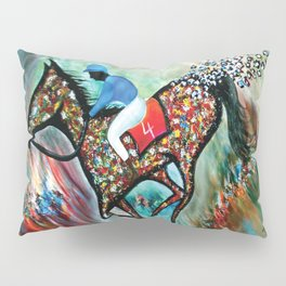 Blue Dream In The Ocean In Abstract Modern Pillow Sham