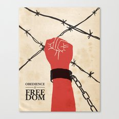 OBEDIENCE is FREEDOM - two Canvas Print