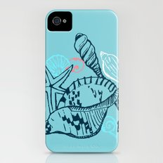 She Sells Sea Shells iPhone (4, 4s) Slim Case