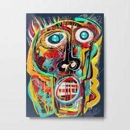 The Scream Street Art Graffiti Metal Print