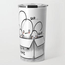 Cryaotic~ Needs a Home Travel Mug