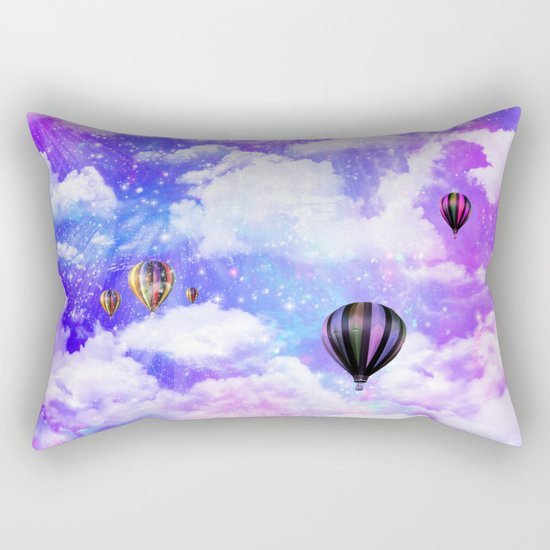Hot air balloons Rectangular Pillow