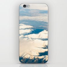 Mountains with snow iPhone & iPod Skin