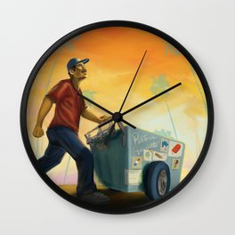 Paletero Sunset Wall Clock