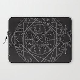 Witch's Mandala Laptop Sleeve