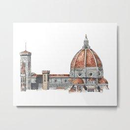 Cupola di Brunelleschi Metal Print