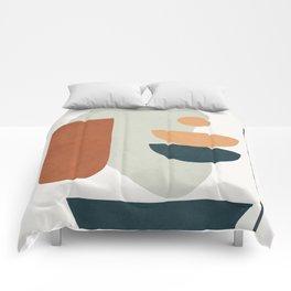 Minimal Shapes No.35 Comforters