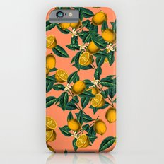 Lemon and Leaf Slim Case iPhone 6s